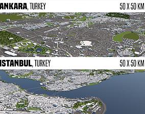 Turkey 2 Cities 3D model