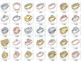 3D print model 55 Royal Collection Diamond Ring