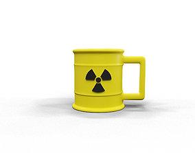 Radioactive cup 3D print model