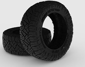 Nitto Ridge Grappler 4x4 Neumatic 3D print model