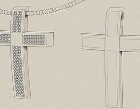 Catholic cross 3D print model