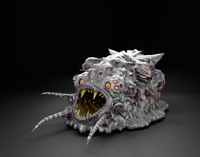 Pharynx monster monster alien UFO creature 3D asset