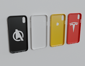 iPhone XS Max 3D Printable Cases Bundle