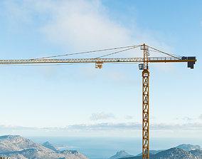 Tower Crane - Hammerhead Construction 3D model