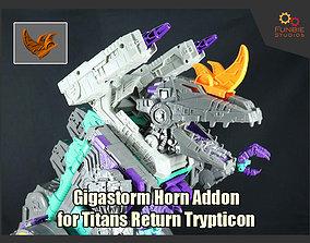 3D print model Gigastorm Horn Addons for Transformers 2