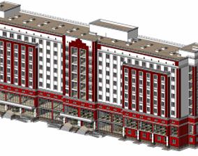 3D model Russian Hotel
