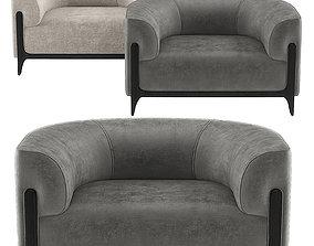 Bob armchair by Christophe Delcourt 3D