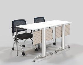 3D model Fursys VIM Chair Table