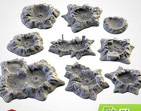 CRATERS 3D print model