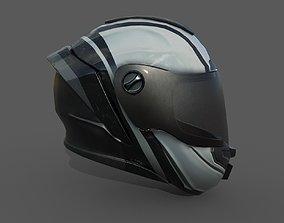 Helmet racer Generic sport scifi human 3d VR / AR ready 1