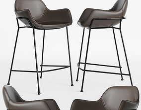 Oslo Bar stool Deephouse 3D model loftdesign