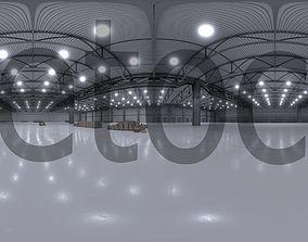 HDRI - Warehouse Interior 3b 3D model