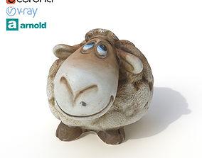 Statuette Sheep 3D