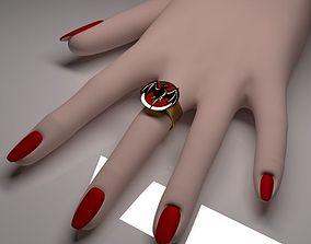 3D model Ring Logo Bacardi