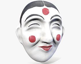 3D asset Korean Traditional Mask