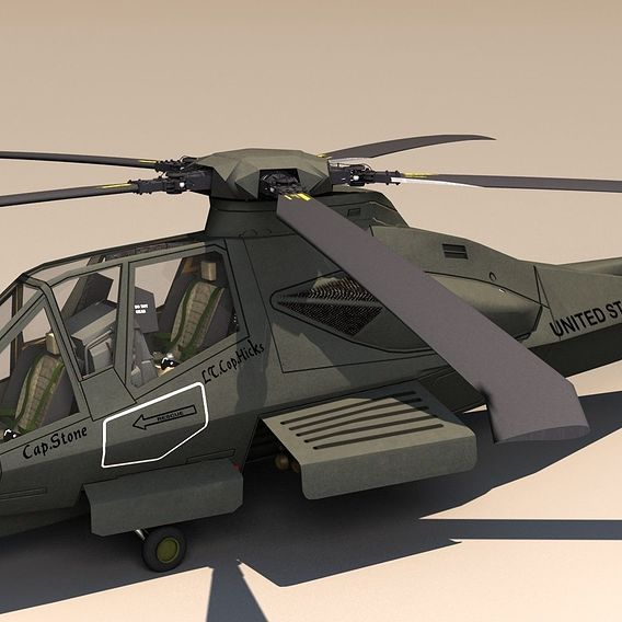 Comanche 2 Helicopter