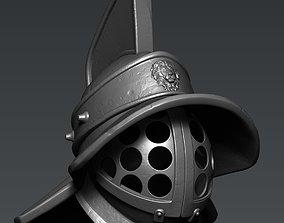 3D print model Gladiato Helmet