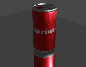 3D model Soda or juice can
