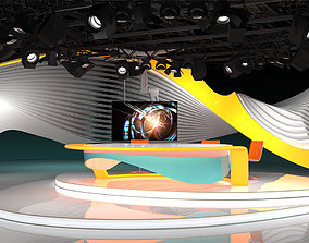 3D Virtual TV Studio 03