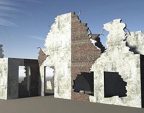 Ruined Buildings 3D model