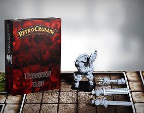 3D printable model Retrocrusade - Barbarian