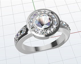 3D printable model Halo ring