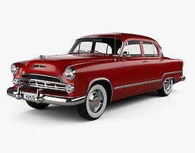 Dodge Coronet sedan 1953 3D model