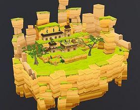 3D model Enviroment China