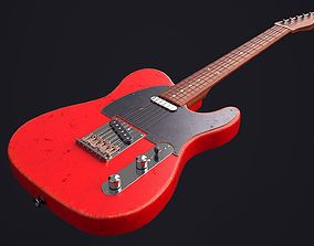 3D model realtime Fender Telecaster