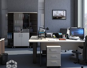chair Office 3 3D