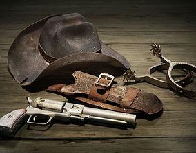 1e56b700e Django Hat 3D asset | CGTrader