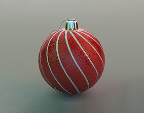 3D asset Christmas Ball