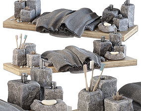 3D Batroom decor stone soap n2