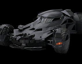Batmobile Batman vs Superman 3D asset