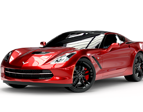 3D model Chevrolet Stingray Corvette