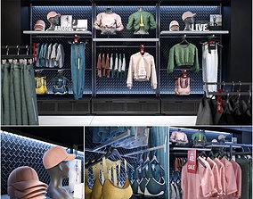 3D Clothes shop athletic wear 01