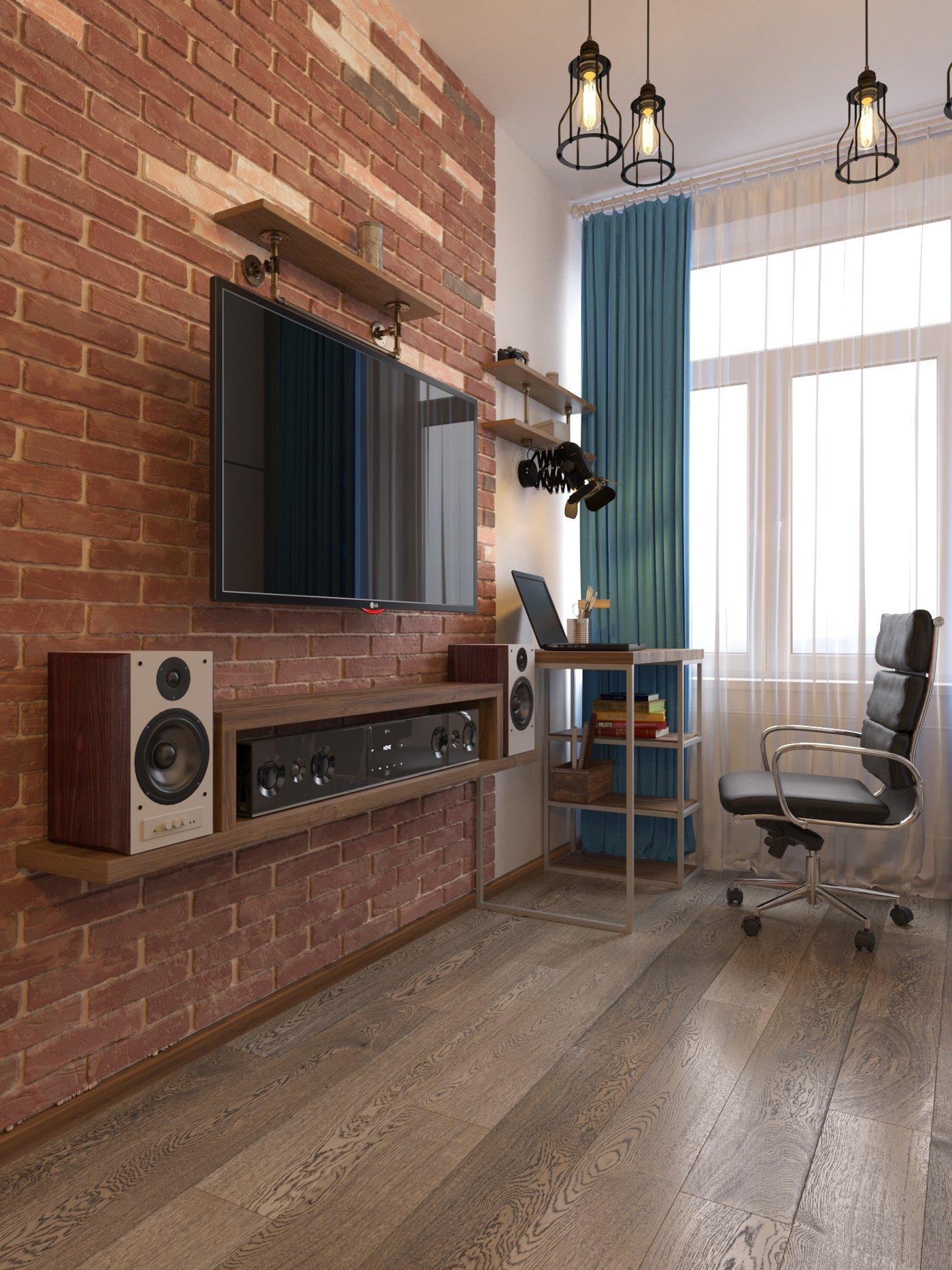 Loft Studio 4 hokkey fan