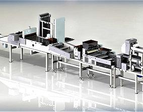 Machine for making salted sticks 3D model