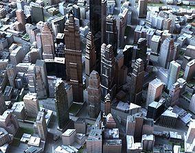 3D Big City 50