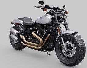 3D model Harley Davidson Fat Bob 2020