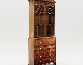Georgian cabinet - England - 19th 3D model