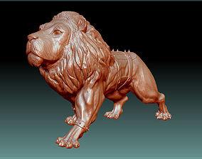 3D print model Lion STL