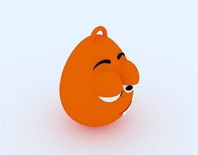 3D print model Sleepy Emoji KeyChain keychain