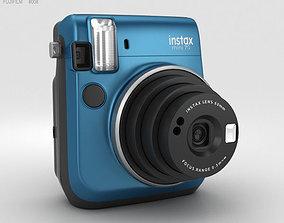 3D model Fujifilm Instax Mini 70 Blue digital