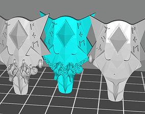 3D print model Wolf kite storm shields for wolf viking 1