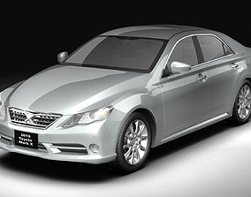 3D Toyota Mark X 2010