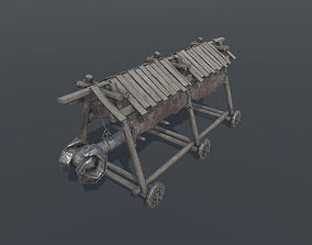 Battering Ram - Siege Tower 3D asset