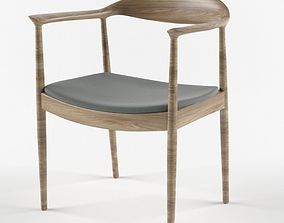 3D model Hans Wegner Kennedy Arm Chair