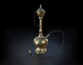 Hookah 3D model realtime