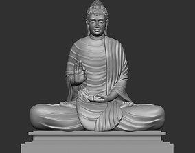 3D printable model Sitting Buddha